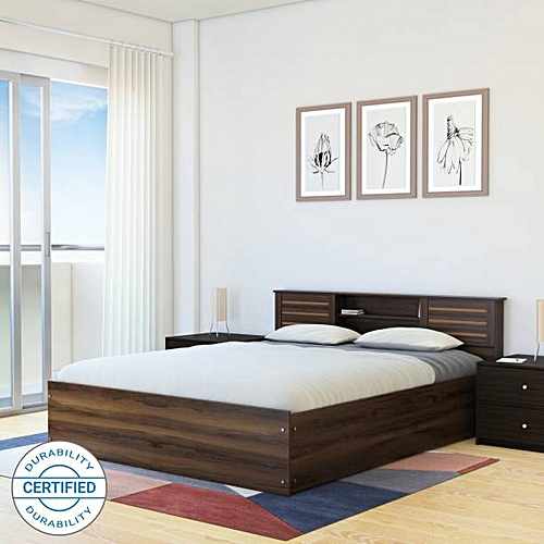 Morgan Bens 6by6Bed(No Mattress)Free Pillow+ Lagos Delivery
