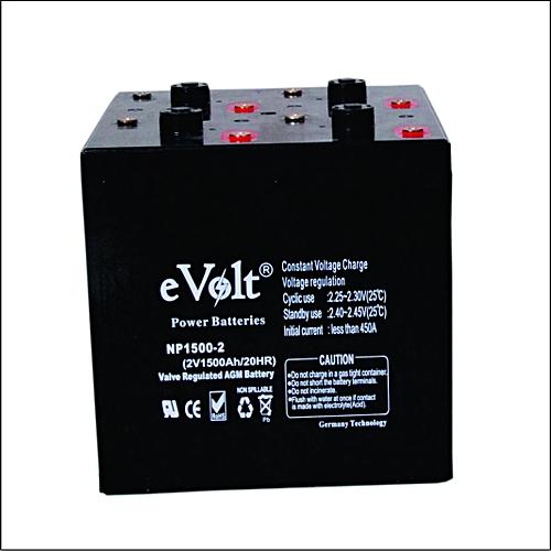 EVolt 2v/1500ah Inverter Battery