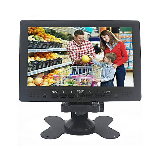"Mini LCD Monitor 7"" Digital TFT Color Receiver PC Monitor"