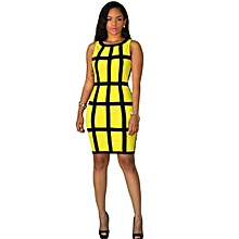 Sexy Women Dress Bandage Cocktail Sleeveless Bodycon Evening Party Dresses  YE L 7181e96fb46a