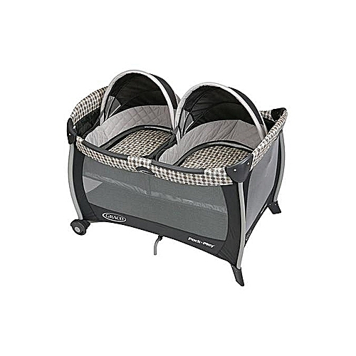 e4fcbfb3ce5 Graco Pack  n Play Playard With Twins Bassinet