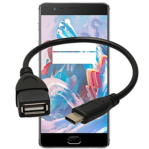 Hiamok_ USB 3.1 Type-C USB-C OTG Cable USB3.1 Male To USB2.0 Type-A Female Adapter Cord