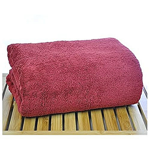 Unique And Soft Large Bath Towel - Red