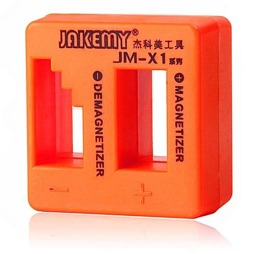 JAKEMY JM - X1 Solid Magnetizer Demagnetizer Professional Tool - Orange