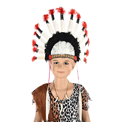 Generic Feather Headdress Dance Party Stage Props