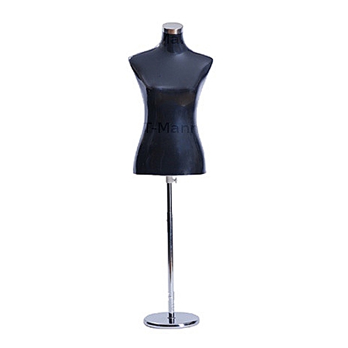 Black Female Half Body Dress Form Mannequin