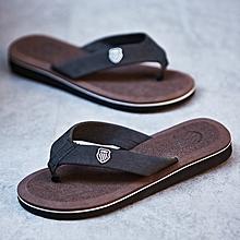 476817808b3a5 Men  039 s Flip-flops Slippers Beach Sandals Indoor amp Outdoor Brown