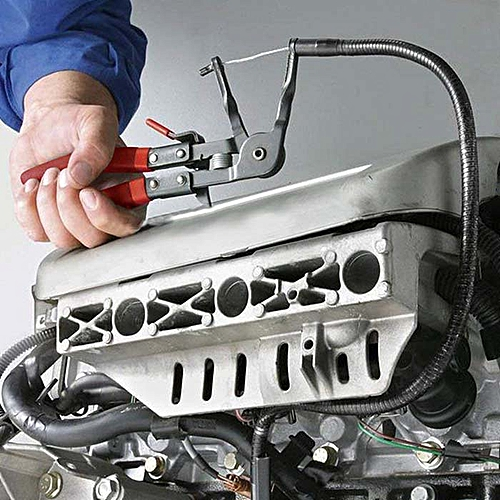 Bundle Pliers Auto Repair Hardware Tool - Lava Red