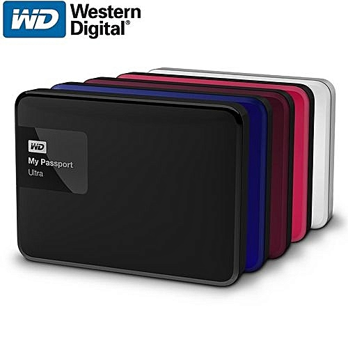 WD Elements External Hard Drive Disk HD 2TB High Capacity SATA USB 3.0 Storage Device-Black