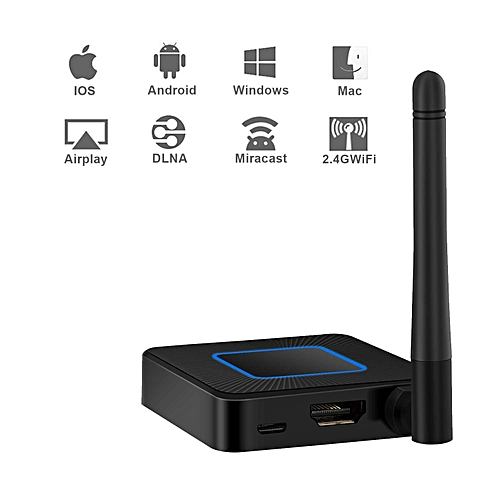 Miracast Dongle 2 4G/5G WiFi Display Wireless Screen Dongle