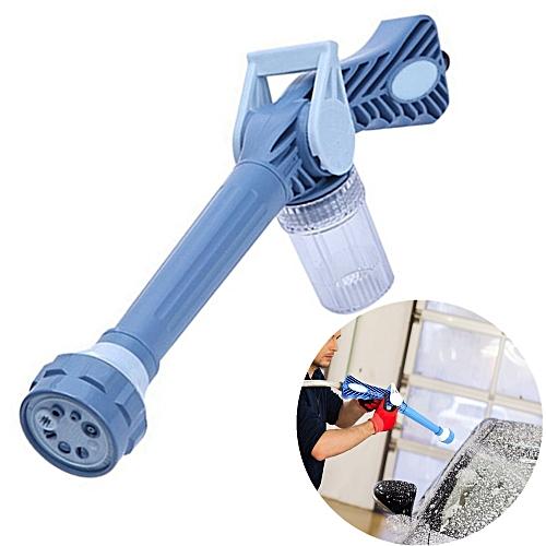 EZ Jet Water Cannon 8 In 1 Multifunctional Home Garden Car Cleaning Spray Gun