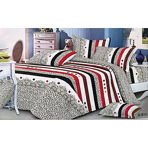 Bedsheet Set With Duvet And 4 Pillowcase