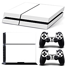 Excellent Quality Skin Sticker For PS4 For PlayStation 4 Console With 2 Controller Protector Skin (White) for sale  Nigeria