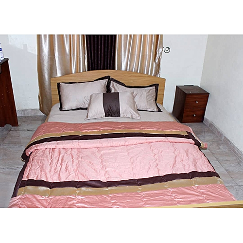 Silk Bedsheets With Duvet Set