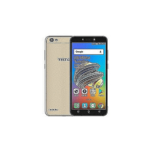 F3 Pro (Pop1 Pro) 5.5-Inch IPS (16GB ROM + 1GB RAM) Android 7.0 Nougat, 13MP + 5MP Dual SIM 3G Smartphone - Champagne Gold