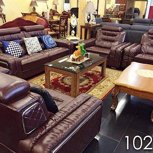 7 Seater Luxury Leather Sofa For Homes.