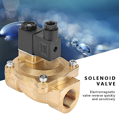 Solenoid Valve 2V250-20 G3/4 Two Position Two Way Pilot-operated Electromagnetic Valve