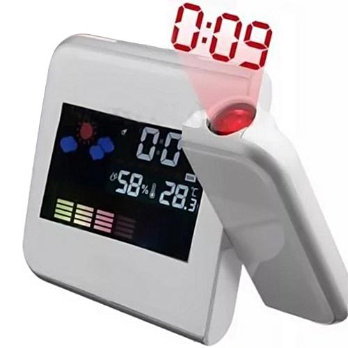 Shinewerop New Creative Fashion Digital Projection LED Display Boutique Alarm Clock