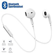 f4374dd21b9 S6 Bluetooth 4.1 Headphone In-ear Sports Music Headset Built-in Microphone  Wireless Sports