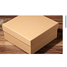 28209 Cm Empty Box Rectangular Kraft Paper Gift Packaging Brown