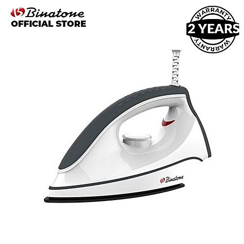 DI-108 Dry Iron - White/Grey