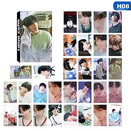 Eleganya 30 Pcs/Set Kpop GOT7 Fashion Photo Boutique LOMO Cards