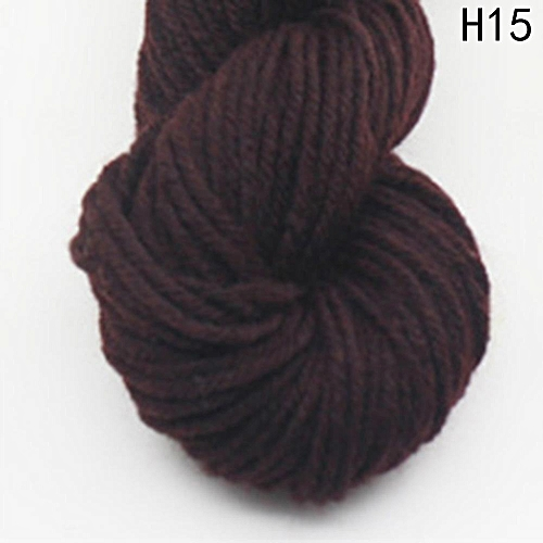 Eleganya High Quality Hook Shoes Dedicated Pure Color Knit Cotton Yarn H15