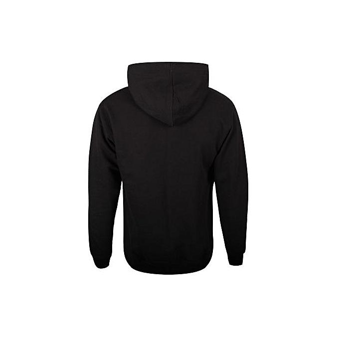 da18d01cf Fashion Plain Black Hoodie | Jumia NG
