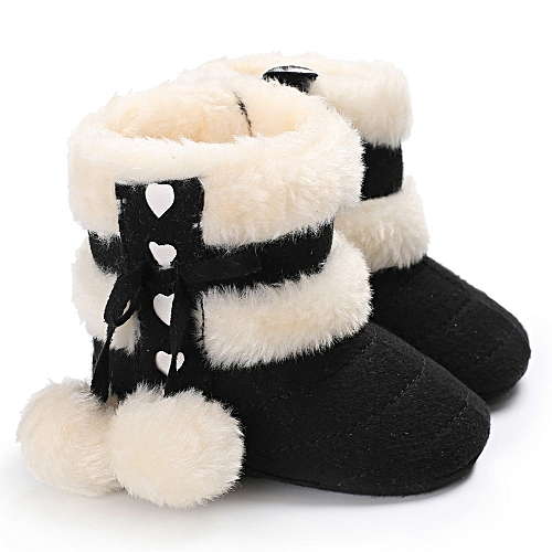 a301d7913bee Neworldline Baby Girl Boy Soft Booties Snow Boots Infant Toddler ...