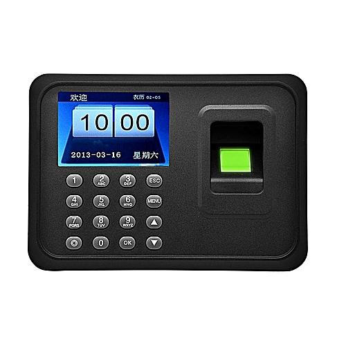 A6 2.4 Inch TFT USB 32bit CPU Fingerprint Time Attendance Machine Clock