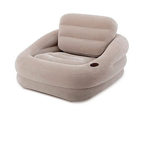Khaki Accent Inflatable Chair