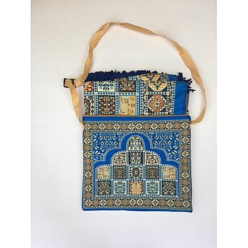Muslim Prayer Mat With Bag For Travel Bag Prayer Mat ,Islam Prayer Rug With Bag Sets HGP-018 3D Print