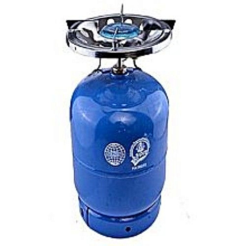 5kg Gas Cylinder With Stainless Steel Burner(different Color)