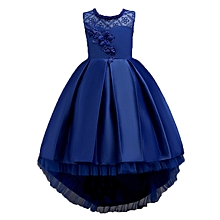 9531198b0d3 Flower Kids Girls Princess Dresses Party Wedding Pageant Tulle Formal  Dresses