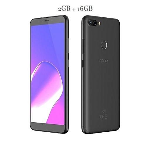 Hot 6 (X606) 6-Inch HD+ (2GB RAM, 16GB ROM) Android 8 Oreo, 13MP + 5MP Dual  Sim Smartphone - BLK