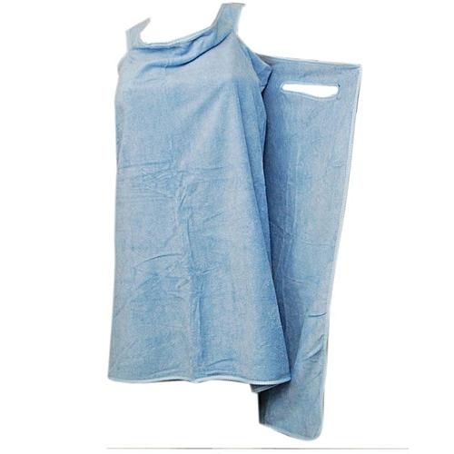 Female Body Bath Rope Wrap Towel - Blue