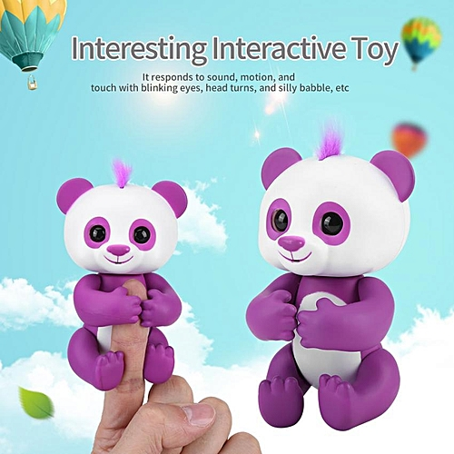 Electronic Interactive Panda Toy Baby Children Happy Playing Cute Pet Interesting Toys