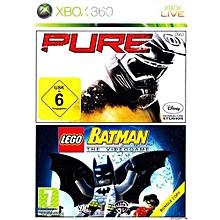 PURE/LEGO BATMAN DOUBLE PACK - Xbox 360 for sale  Nigeria