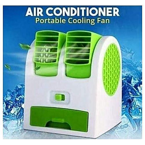 Air Conditional Portable Cooling Fan Mini Desk Fan