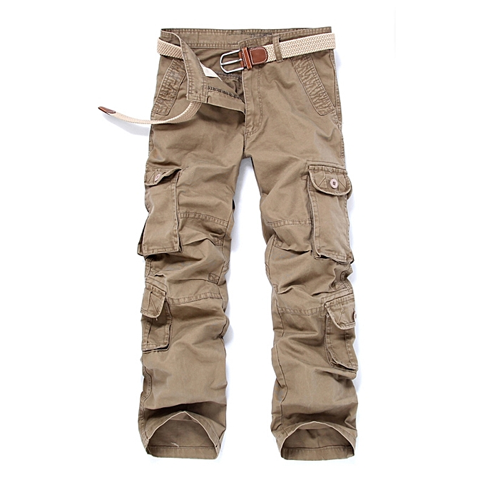 89e187b82a9 Spring Summer Men s Casual Cargo Pants Outdoor Hiking Mountain Tactical  Pants Cotton Military Army Trouser Multi