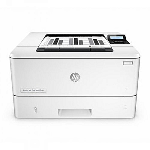 Hp LaserJet Pro M402n Printer- Black and White