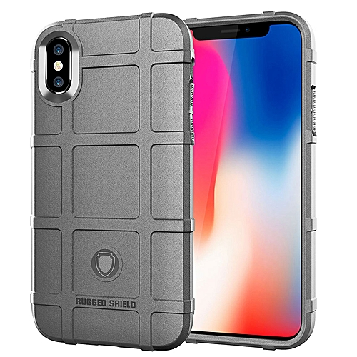 IPhoneXSmax Case, Rubber Full Body Protection Shockproof