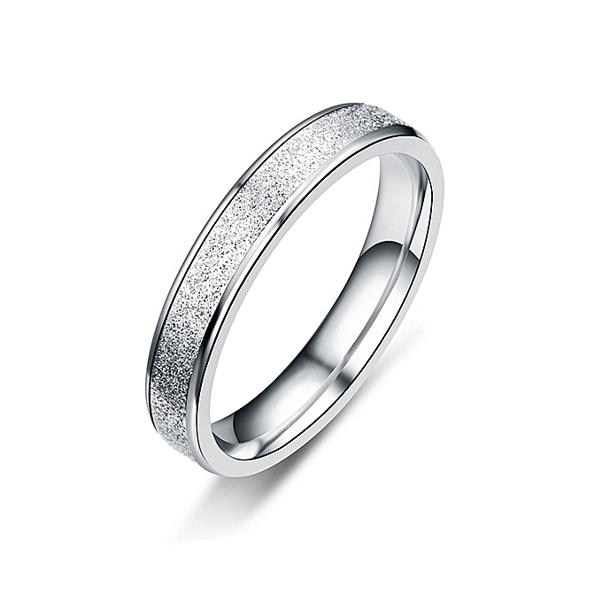 7236cfa0cd 4mm 925 Sterling Silver Rings For Women And Men Simple Ring Grind High  Polishing Wedding Band