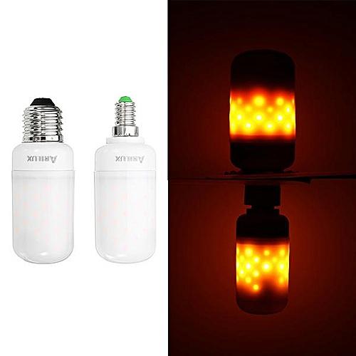 ARILUX AC85-265V E27 2.7W Warm White Flame Changing Light Bulb