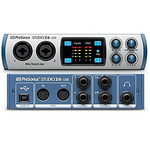 Studio 26 USB 2x4 MIDI Interface
