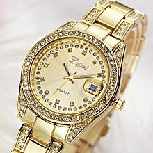 c9d4230d041 Guoaivo LVPAI Vente Chaude De Mode De Luxe Femmes Montres Femmes Bracelet  Montre Watch -Gold
