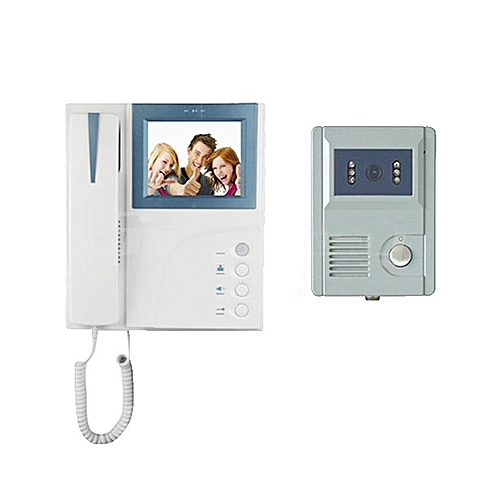Wired Video Door Phone - White