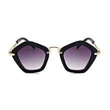 6d0ad757d1d Baby Children Pentagram Polygon Sunglasses Cool Toddler UV Sunglasses Metal  Glasses Legs