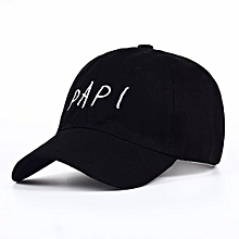 bc4c1913267b55 Papi Baseball Snapback Cap-Black