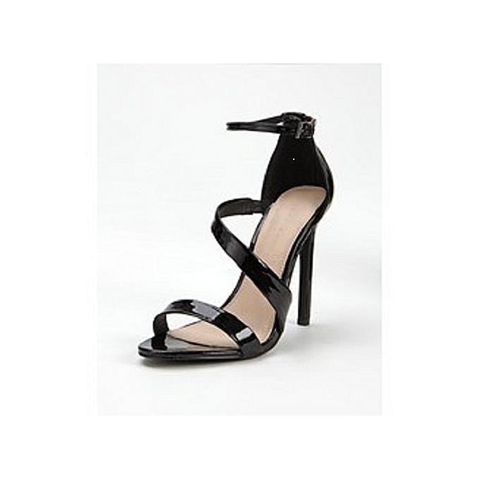 9558b375ab4 Ladies Black High Heel Sandal